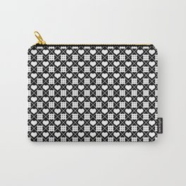 Rhombuses and hearts Carry-All Pouch