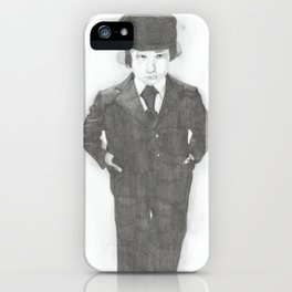 Damien. iPhone Case