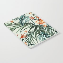 Exotic flower nature-07 Notebook