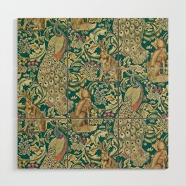 The Forest  William Morris Wood Wall Art