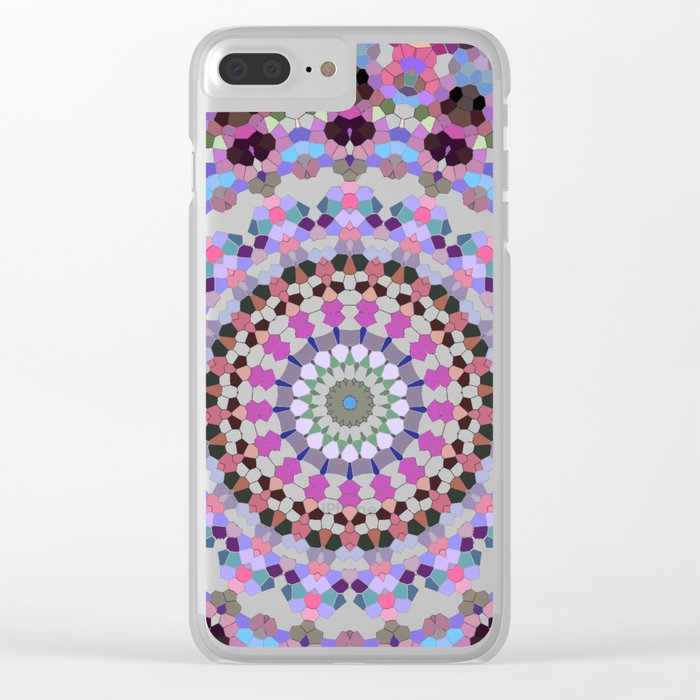 ARABESQUE UNIVERSE Clear iPhone Case