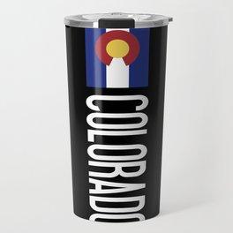 Colorado: Coloradan Flag & Colorado Travel Mug