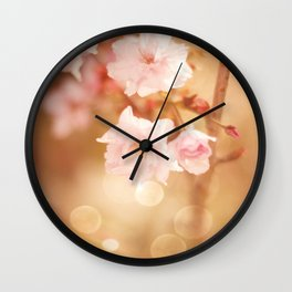 FLOWER - Charmed Moment Wall Clock