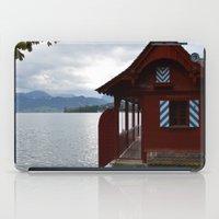 switzerland iPad Cases featuring Switzerland by Mackenzie Lee