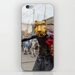 Aztec warrior iPhone Skin