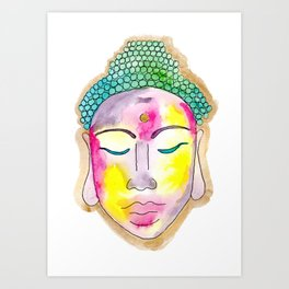 buddha 2 Art Print