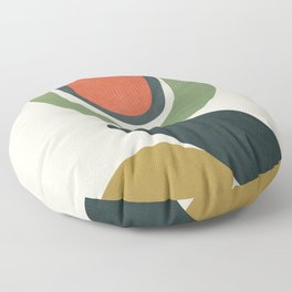 Abstract Shapes 32 Floor Pillow