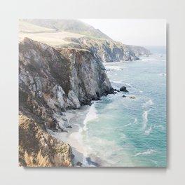 Big Sur California Beach Metal Print