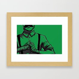 Smash. Framed Art Print