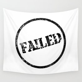Failed Stamp Wall Tapestry