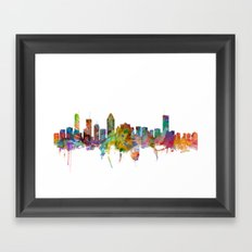 Montreal Canada Skyline Framed Art Print