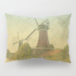 Landscape with mills Pillow Sham