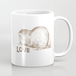 Muskrat Love Coffee Mug