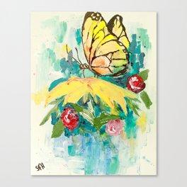 Brave Beauty Canvas Print