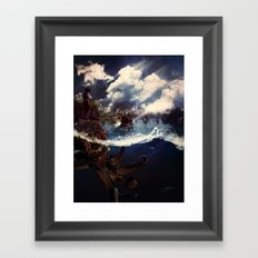 A Journey to Tortuga Framed Art Print