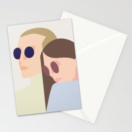 bonnie n clyde Stationery Cards