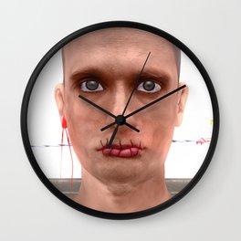 Je suis un artiste de la Russie Wall Clock