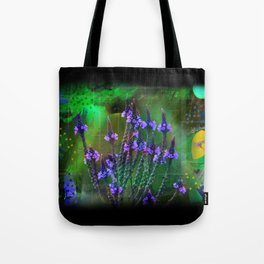 Flowers In A World Of Colors  Tote Bag