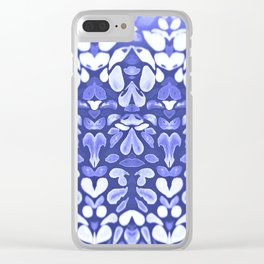 Winter is Coming, Cold Blue Winter Nights Are Coming Clear iPhone Case