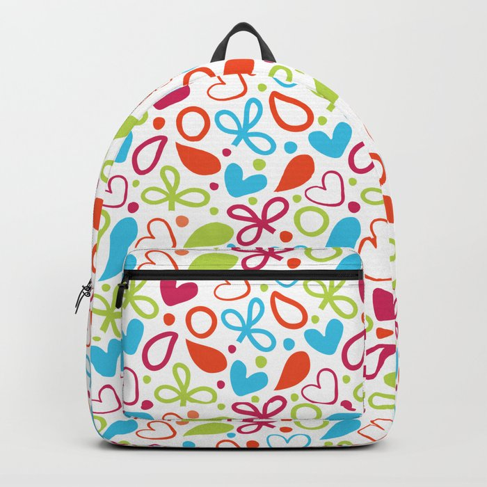 Colorful Lovely Pattern XVI Backpack