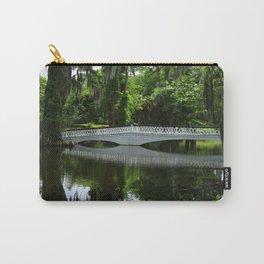 White Bridge On Magnolia Plantation Carry-All Pouch