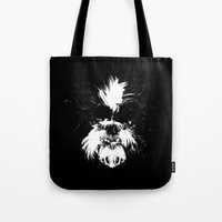 shih tzu Tote Bags featuring Shih Tzu! by Jay Taylor