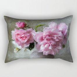 Flowers in Vase Rectangular Pillow