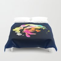 marilyn Duvet Covers featuring Marilyn by Fimbis