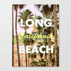 Long Beach, California V.R. Canvas Print