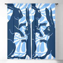 "William De Morgan ""Boxing Hares"" 3. Blackout Curtain"