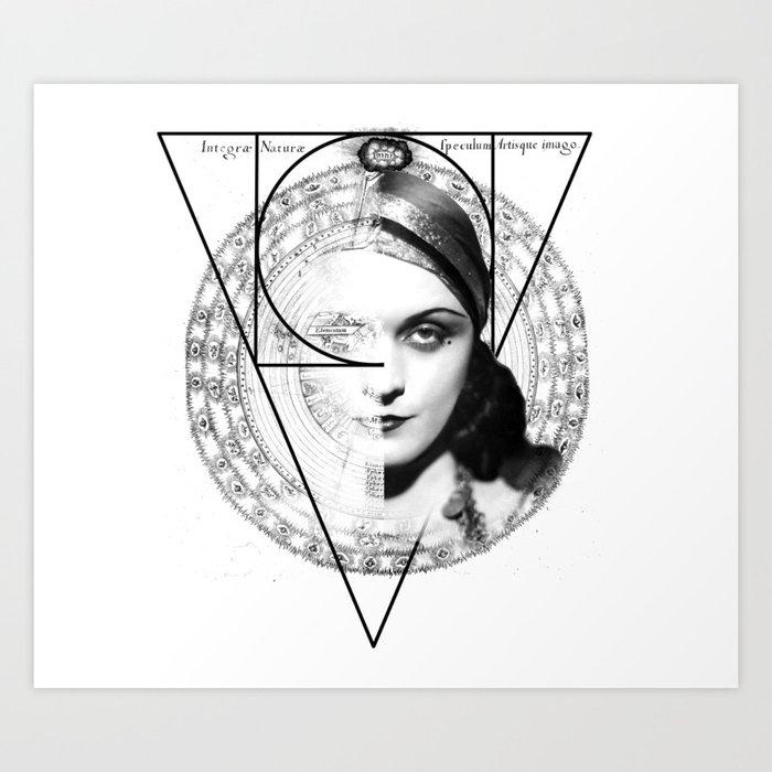 Homuncula: Pola Negri Art Print