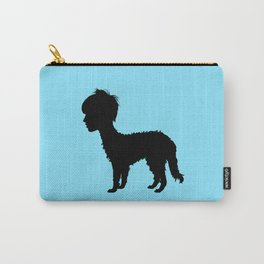 Lurcher girl Carry-All Pouch