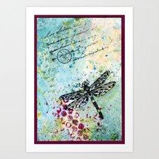 Dragonwings Art Print