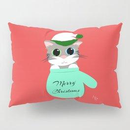Kitten in a Mitten Pillow Sham