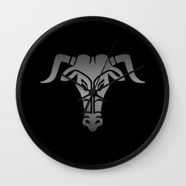 Ancient Greek Minotaur´s Face Wall Clock