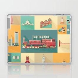 San Francisco Landmarks Laptop & iPad Skin