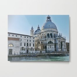Travelling Down the Grand Canal III Metal Print