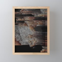The Structure of Our Mind Framed Mini Art Print