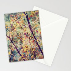 Seasons Circles and Cubes Stationery Cards
