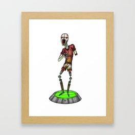 Harlequorg Framed Art Print