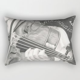 The Note Waltz Rectangular Pillow