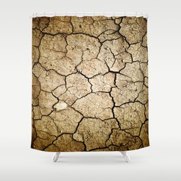Dirt Shower Curtain