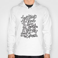 scripture Hoodies featuring LOVE IS PATIENT... by Matthew Taylor Wilson