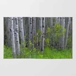 Ghostly Trees Rug