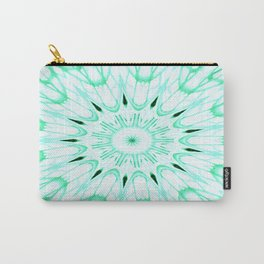 Mint Mandala Explosion Carry-All Pouch