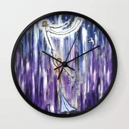 Mothers Daughter Wall Clock