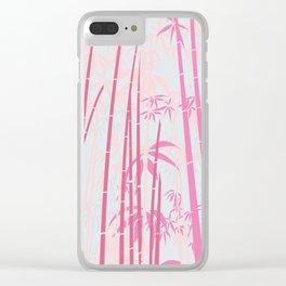 Bamboo VIII Clear iPhone Case