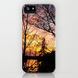 EaglesSprings Sunset 1 iPhone Case
