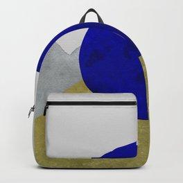 Minimal Moon Mountains Backpack