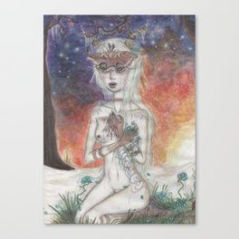 All the Delicate Things Canvas Print